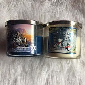 Sweater Weather Candle Lot